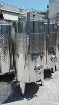 Резервоар за Алкохолна Ферментация 1000 литра