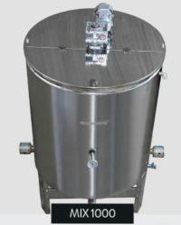 Хомогенизатор за мед 657 л./ 920 кг.